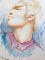 Daesung -- BIGBANG Painting Fan art by antuyetlai