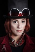 Willy Wonka by Prettyscary
