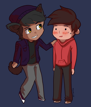 Jacob and Marco by TidalDeimos
