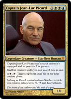 Captain Jean-Luc Picard by shinobigarth