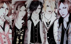 The gazette - wallpaper by RoxiaMagicGirl