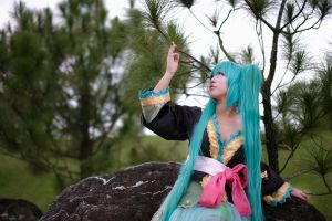 PROJECT DIVA - Unwavering Love by AmyDakota