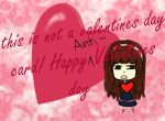 NOT A VDAY CARD ANTI VALENTINES DAY by bite-me-i-like-it