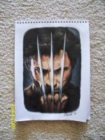 Wolverine Colored Pencil by TattooSavage