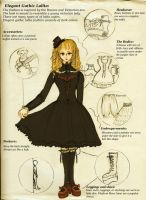 Elegant Gothic and Lolita by Kuy1WingedAngel