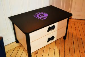 Gamer TV-table by T00thie