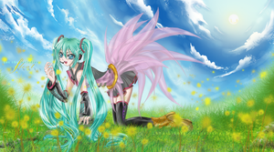 Let the melodies float freely by rinfiora