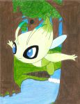 Celebi The Voice Of The Forest by EeveeVSHo-Oh