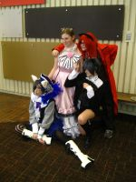 MC 2013 - Kitty Ciel and Grell by vincent-h-nguyen