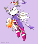 Blaze- Fire Power by Aamypink