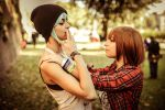 Chloe and Max Kiss - Life is Strange Cosplay by LuckyCosplayArt