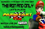 Mario Kart Livestream Ad by TheRonAndOnly
