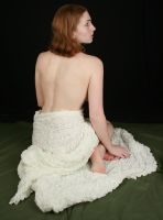 Woman with Bare Back by IQuitCountingStock