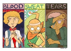blood sweat and tears by MagnoliaPearl