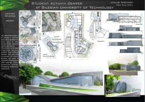 Student Activity Center at Silesian University by bulaw