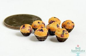 1:12 Blueberry Muffins by Bon-AppetEats
