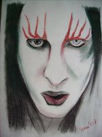 marilyn manson by shapudl