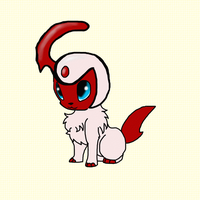 Shiny Absol by MochiFries