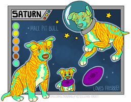 Saturn by m00nster