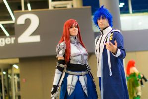 Jellal and Erza rocking it! by SCARLET-COSPLAY