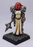 MORDHEIM Sister of Sigmar by FraterSINISTER