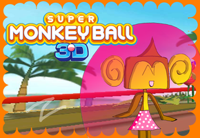 Super Monkey Ball 3DS(Replay Video) Card by zigaudrey