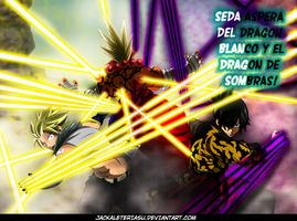 Fairy Tail 409 Sting And Rogue Defeat Jiemma by JackalEteriasu