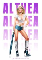 Althea Pin Up by AdmiraWijaya