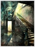 Thrown Stairs by doubleagent2005
