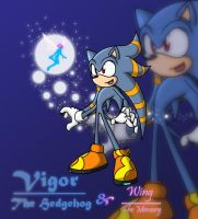 Vigor and Wing by Fan-o-sonic-FC