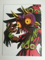 Skull Kid painting by TheScarecrowOfNorway