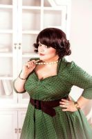 My pin up style plussize by Matsu-Sotome