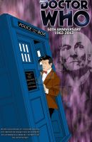 Doctor Who 50th anniversary by bluepen731