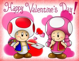 Happy Valentine's Day!! :D by SuperLakitu