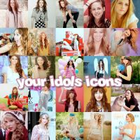 Your idols ICONS by needabreath