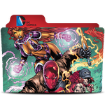 Red Hood and the Outlaws Folder by konamy23