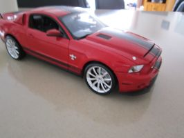 Ford Mustang Shelby GT 500 Super Snake 2010 Model by Tora-Luv10