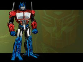 Optimus Redesign WP by jameson9101322