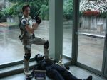 Chris Redfield Cosplay by RotaryBlaze