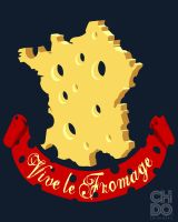 VIVE LE FROMAGE by ChidoWear