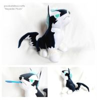 Handmade Puppy Repede Plush by pookat
