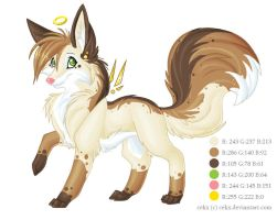 Cekx Reference Sheet by feliara