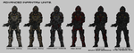 Advanced Infantry units by Athalai-Haust