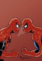 Spider-Man - Superior vs Amazing by chrismas-81