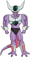 King Cold 3rd Form by legoFrieza
