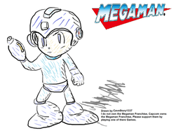 Megaman by CaveStory1337