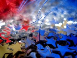Stars, Red and Blue... by XxFreakOfNaturexX