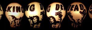 The Walking Dead Sharpie Light Bulb by AllHailZ