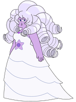 New Amethyst Shape-shifted into Rose by Ben10OmninerseRules