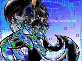 Virtuas The Cyber Cat by Reina-wOlf
